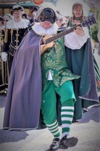 Maschera allegorica Buscaja da Busca (Cuneo) al Summer Carnival di Soverato