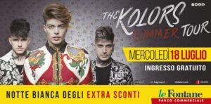 Domani sera il concerto dei The Kolors al Parco Le Fontane, ingresso gratuito