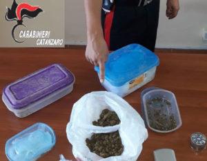 Davoli – Stupefacenti sotterrati in aiuola del giardino, 51enne arrestato