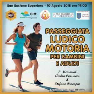 """A San Sostene il 1° Memorial """"Ambra Corsinovi & Stefano Procopio"""""""