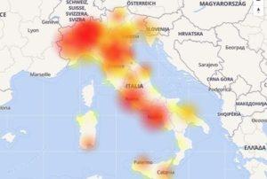 Tre e Wind, in corso malfunzionamenti in tutta Italia