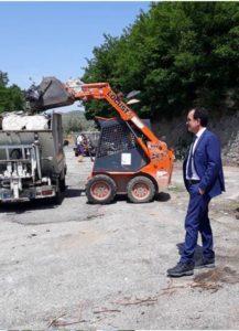 Continuano le operazioni di bonifica delle strade di competenza della Provincia di Catanzaro