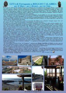 Gita di Ferragosto da Soverato a Reggio Calabria per vedere i Bronzi e la città