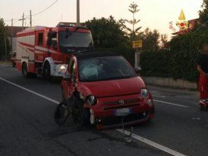 Incidente sulla Ss 106 tra Davoli e San Sostene