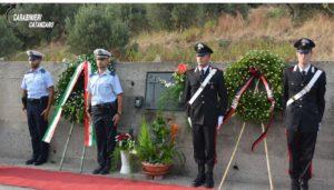 Satriano – L'Arma dei Carabinieri celebra il 27° anniversario della morte di Renato Lio