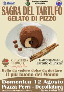 Al 12 Agosto la sagra del tartufo gelato di Pizzo a Decollatura
