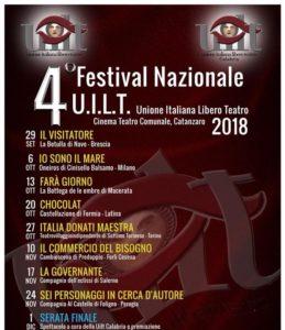 Catanzaro – IV edizione del Festival Nazionale UILT