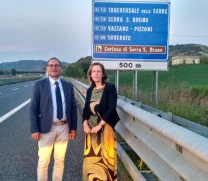 Trasversale delle Serre, Vono: imminente apertura dello svincolo sulla A2