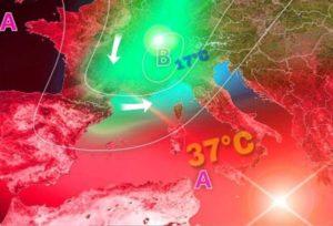 Anticiclone africano sulla Calabria, torna l'estate con il caldo rovente