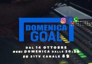 Torna su S1 TV il programma sportivo Domenica Gol