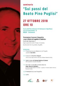 """A Catanzaro il seminario """"Sui passi del Beato Pino Puglisi"""""""