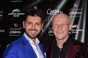 Il giovane imprenditore Rosario Tavano ospite di John Caudwell