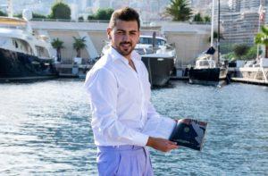 Il calabrese Rosario Tavano presenta il suo brand allo Yacht club di Monaco