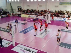 Tre punti all'esordio di campionato per il Volley Soverato