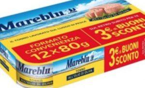 Mareblu richiama tonno in olio di oliva dai supermercati, ecco il lotto