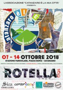 """L'Associazione """"Catanzaro è la mia città"""" omaggia Mimmo Rotella con una mostra concorso"""