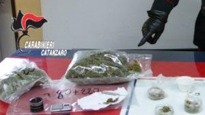 Giovane di Montepaone beccato con 500 gr di marijuana, arrestato