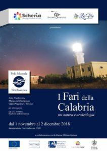 """A Tiriolo la mostra fotografica """"I Fari della Calabria"""""""