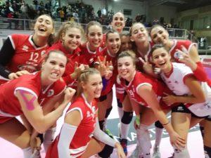 Il Volley Soverato espugna Orvieto e vola al secondo posto in classifica