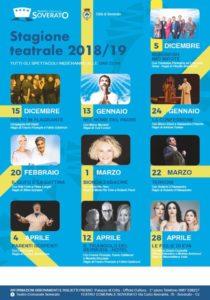Soverato – Al via la stagione teatrale 2018/2019, programma completo