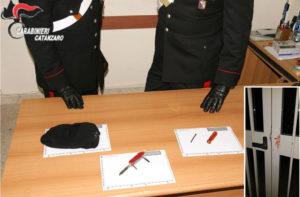 Due fidanzati tentano di entrare in un edificio scolastico, fermati dai carabinieri