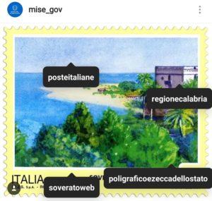"""Un francobollo """"Turistico"""" dedicato alla Città di Soverato"""