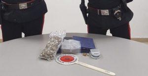 Beccato con oltre 100 grammi di marijuana, 36enne arrestato