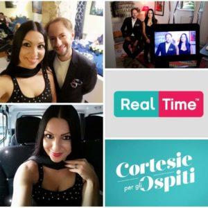 La ballerina Lelah Kaur stasera in tv su Real Time