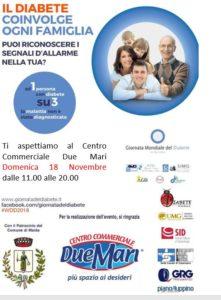 Evento della Società Italiana di Diabetologia (SID) per celebrare la Giornata Mondiale del Diabete