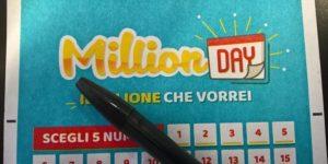 Proviamo a vincere 1 milione di euro con la lotteria di MillionDAY?