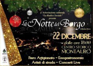 """A Montauro questa sera l'edizione zero de """"La Notte del Borgo"""""""