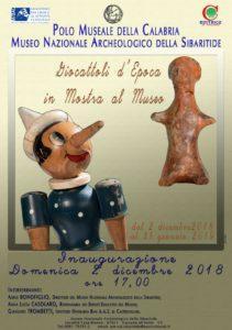 Fino al 31 gennaio 2019 Giocattoli d'epoca in mostra al Museo Nazionale Archeologico della Sibaritide
