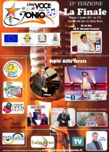 S. Andrea Jonio – Tutto pronto per la finale del Festival Una Voce per lo Jonio
