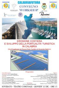 """A Soverato il convegno """"Erosione costiera e sviluppo della portualità turistica in Calabria"""""""
