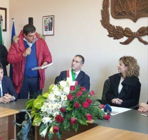 San Nicola da Crissa: il sindaco consegna al ministro Lezzi un dossier sui danni alluvionali