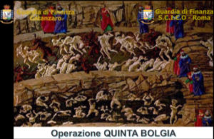 Operazione Quinta Bolgia – Torna in libertà il dott. Pagnotta