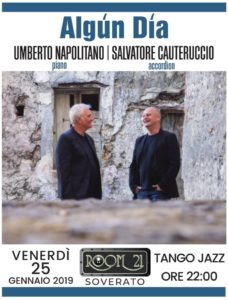 """Algùn Dìa"": appuntamento col Tango Jazz  al Room 21 di Soverato"