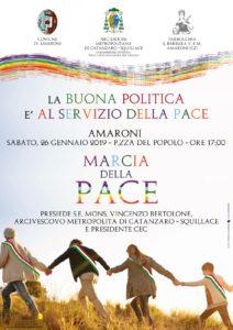"Sabato 26 gennaio ad Amaronila ""Marcia della Pace"""
