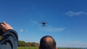 Bonifiche: per i monitoraggi ambientali Arpacal si è dotata di un drone e formato tecnici