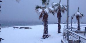 Maltempo – Ancora venti forti e nevicate fino a bassa quota in Calabria