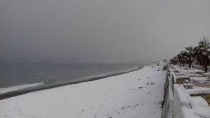 Maltempo – Allerta della Protezione Civile, previsti venti forti fino a burrasca e neve in Calabria
