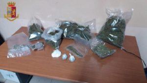 Nascondeva 1,5 kg di marijuana, 25enne arrestato
