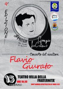 """A S. Andrea Jonio la nona Edizione del """"Premio Giorgio Lo Cascio"""""""