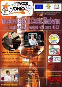 S. Andrea Jonio – Masterclass con Tony Vandoni da Radio Italia e Area Sanremo e il M° Vince Tempera
