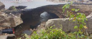 Al via lavori di ricostruzione del ponticello stradale lungo la SP 93 nel territorio di Spadola