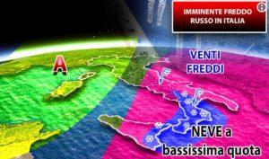 Finito l'anticipo di primavera: in arrivo gelo e neve, 10 gradi in meno in Calabria