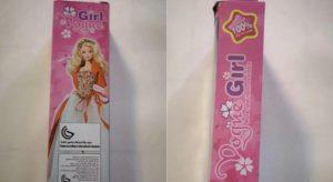 Sostanze tossiche nella Bambola Vogue Girl. Il Ministero della Salute la ritira dal mercato per rischio chimico
