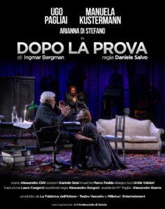 """Teatro del Grillo di Soverato – Domenica 17 febbraio in scena """"Dopo la prova"""""""