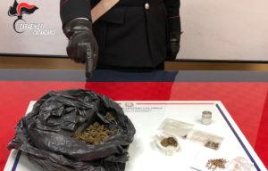 Controlli antidroga, arrestato 43enne di Davoli e segnalati 3 giovani a Soverato