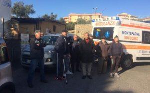 Parcheggi all'Ospedale di Soverato, la protesta degli emodializzati e disabili